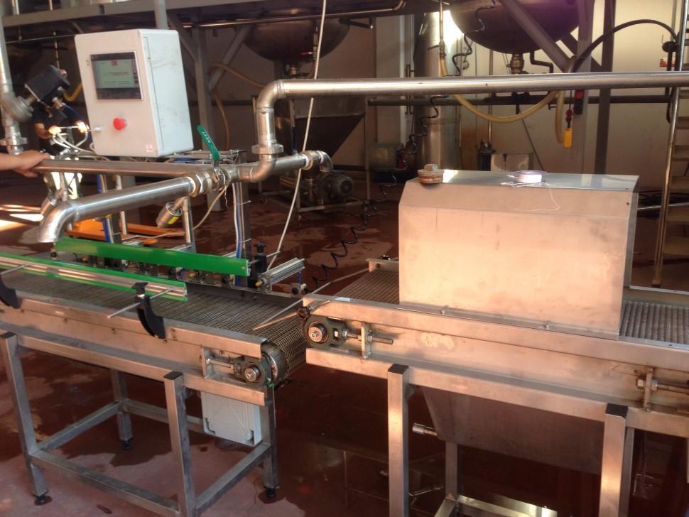 Otomatik Kutu Teneke Salça Dolum Makinası