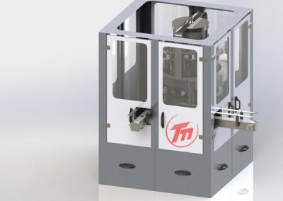 Döner Başlıklı Otomatik Salça Dolum Makinesi